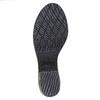 Scarpe in pelle da donna con lacci bata, grigio, 693-2381 - 26