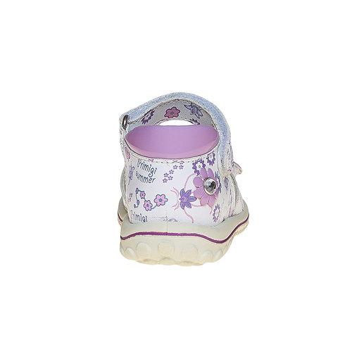 Sandali in pelle per bambina primigi, bianco, 164-1120 - 17