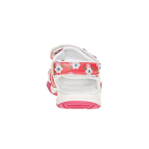 Sandali da bambina mini-b, rosa, 261-0165 - 17