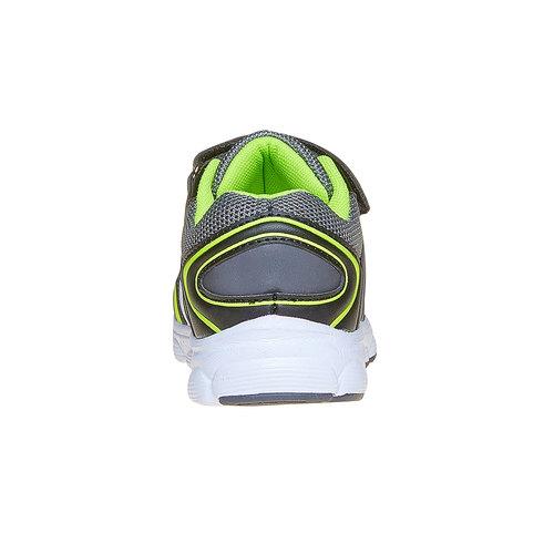 Sneakers da bambino con chiusure a velcro mini-b, grigio, 219-2167 - 17