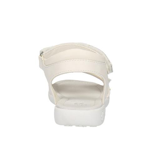 Sandali da ragazza con glitter mini-b, bianco, 261-1159 - 17