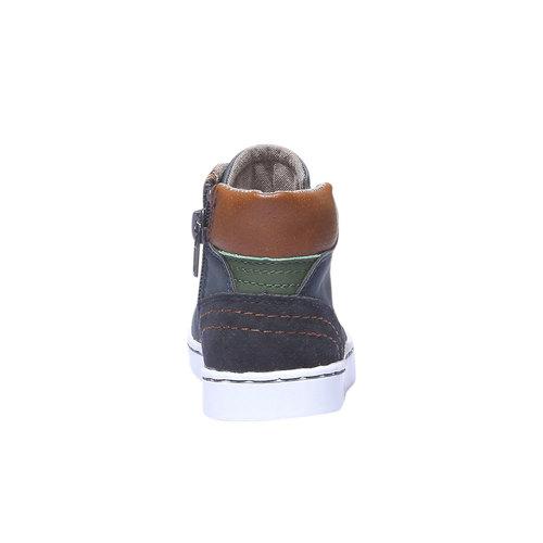 Sneakers da bambino alla caviglia mini-b, viola, 211-9124 - 17