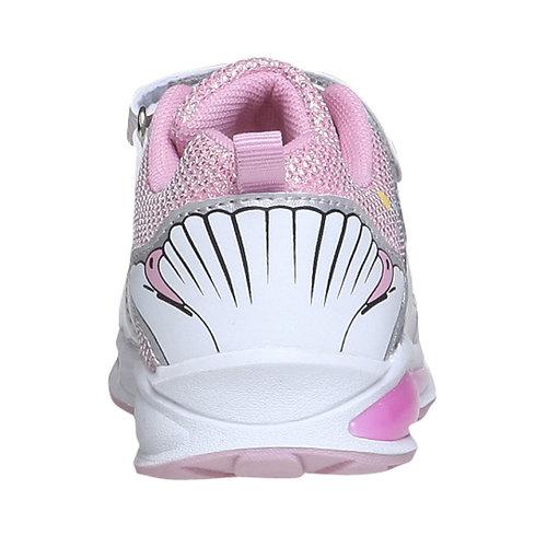 Sneakers da bambino con velcro mini-b, bianco, 229-1159 - 17