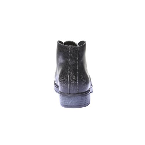 Scarpe alla caviglia con suola di contrasto bata, nero, 521-6365 - 17