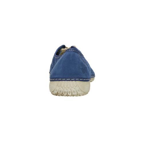 Sneakers di pelle weinbrenner, blu, 546-9238 - 17