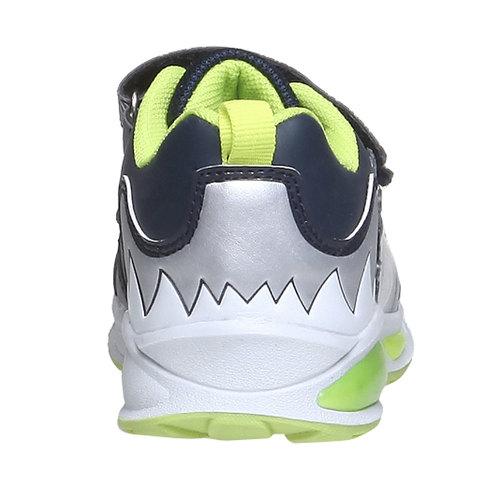 Sneakers da bambino con velcro mini-b, viola, 211-9155 - 17