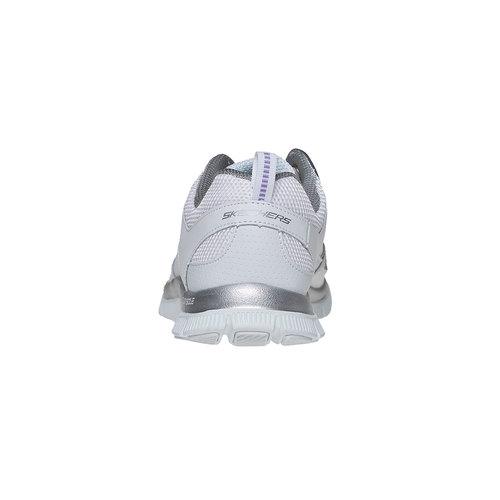 Sneakers sportive da donna skechers, bianco, 509-1556 - 17