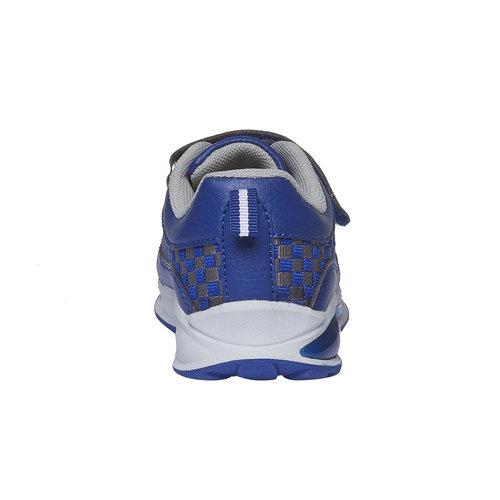 Sneakers da bambino con chiusura a velcro mini-b, viola, 211-9119 - 17
