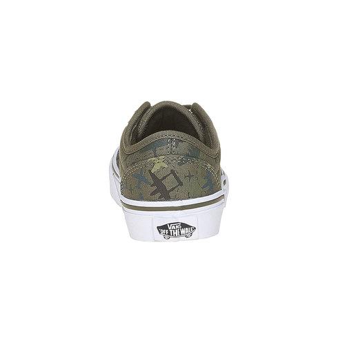 Sneakers informali da bambino vans, verde, 409-2234 - 17