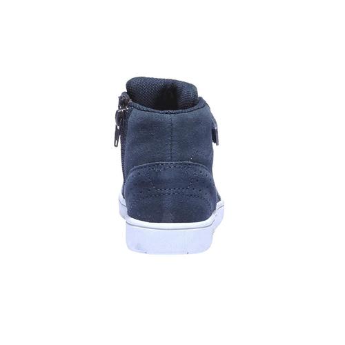 Sneakers da bambino in pelle mini-b, viola, 213-9134 - 17