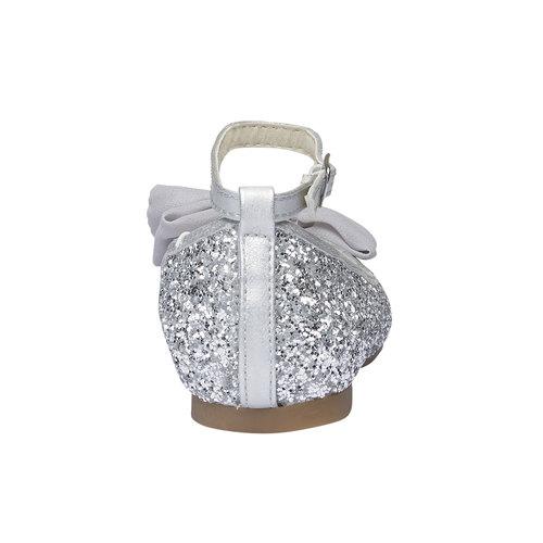 Ballerine da ragazza con glitter mini-b, grigio, 329-2177 - 17