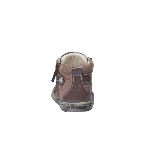 Scarpe da bambino in pelle alla caviglia primigi, rosso, 123-5131 - 17