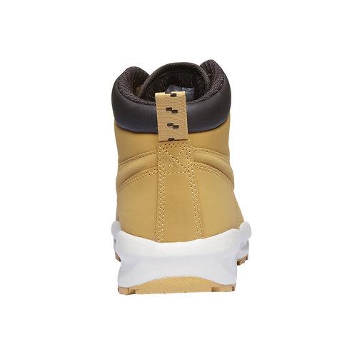Scarpe di pelle alla caviglia nike, giallo, 403-8435 - 17