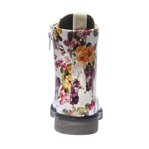 Scarpe da bambino alla caviglia con fiorellini mini-b, 391-0139 - 17