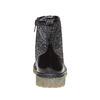 Scarpe sopra la caviglia da bambino con glitter mini-b, nero, 399-6253 - 17