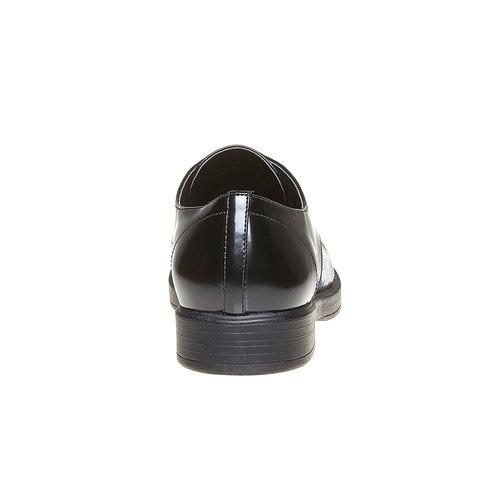 Scarpe basse da donna verniciate bata, nero, 521-6291 - 17