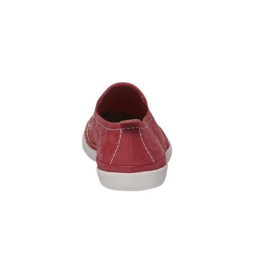 Plim Soll di pelle con perforazioni bata-light, rosso, 514-5197 - 17