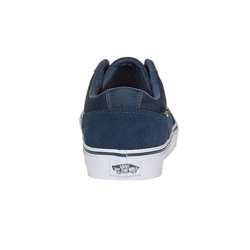 Sneakers informali da uomo vans, blu, 803-9303 - 17