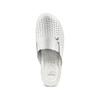 Scarpe a pantofola in pelle traforata bata-comfit, bianco, 574-1805 - 17