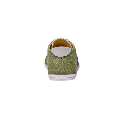 Sneakers informali da uomo bata, verde, 849-7663 - 17
