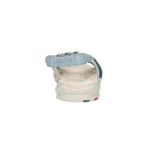 Sandali da donna in pelle bata-touch-me, viola, 564-9353 - 17