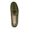 Mocassini da uomo in pelle bata, verde, 853-7180 - 17