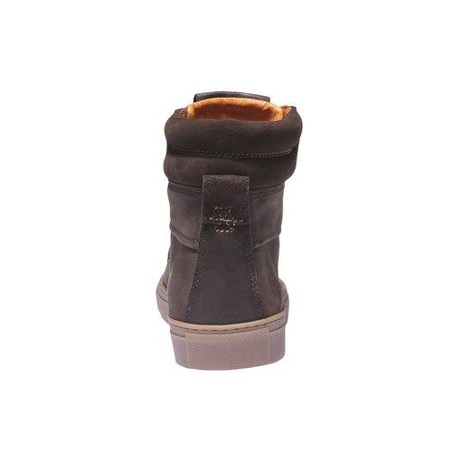 Scarpe di pelle alla caviglia weinbrenner, marrone, 896-4389 - 17