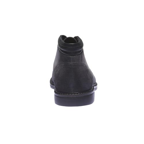 Scarpe da uomo in camoscio bata, grigio, 893-2261 - 17