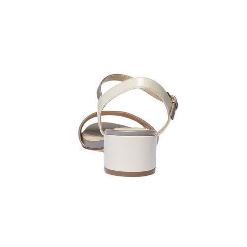 Sandali da donna bata, grigio, 661-2112 - 17