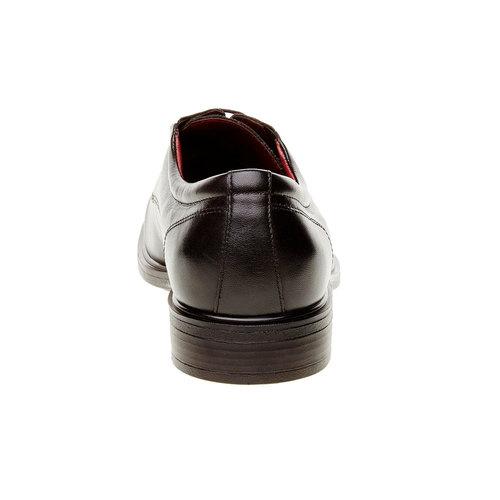 Scarpe basse da uomo in pelle bata-comfit, nero, 824-6933 - 17