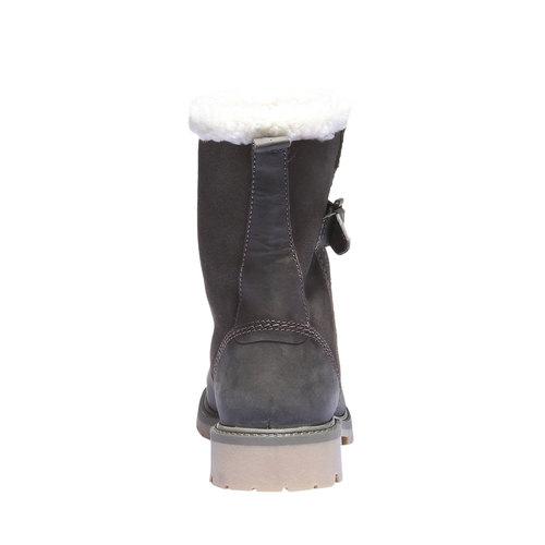 Scarpe in pelle con suola antiscivolo weinbrenner, grigio, 594-2455 - 17
