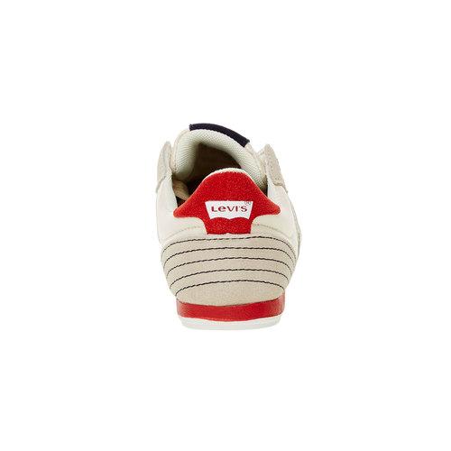 Sneakers informali da uomo levis, bianco, 841-1198 - 17