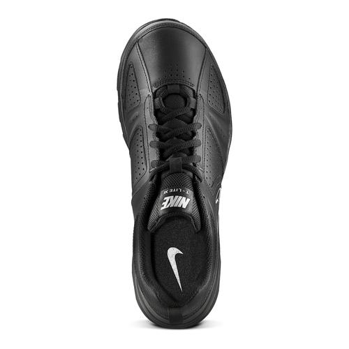 Sneakers sportive in pelle nike, nero, 804-6572 - 15