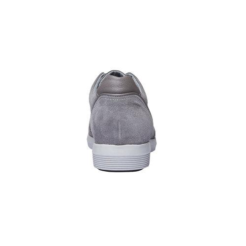 Sneakers da uomo in pelle bata, grigio, 843-2645 - 17