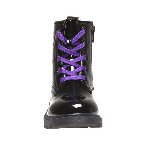 Boot  violetta, nero, 391-6125 - 16