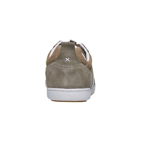 Sneakers informali da uomo bata, giallo, 841-8633 - 17