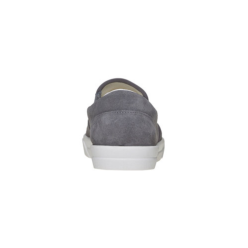Slip-on con perforazioni north-star, grigio, 833-2118 - 17