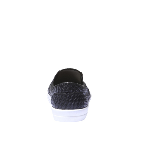 Sneakers trendy Plimsoll bata, nero, 831-6107 - 17