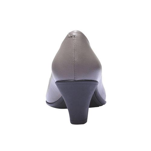 Décolleté con punta flexible, grigio, 624-8221 - 17
