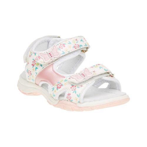 Sandali da bambina mini-b, bianco, 261-1165 - 13