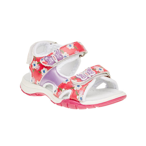Sandali da bambina mini-b, rosa, 261-0165 - 13