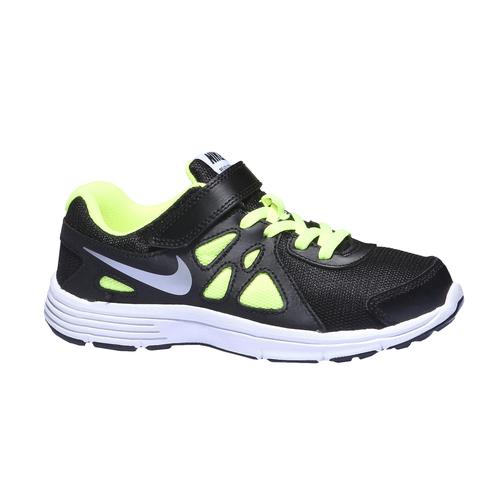 Sneakers da bambino con suola ampia nike, nero, 309-6110 - 13