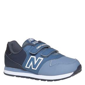 Sneakers da bambino con chiusure a velcro new-balance, blu, 301-9500 - 13