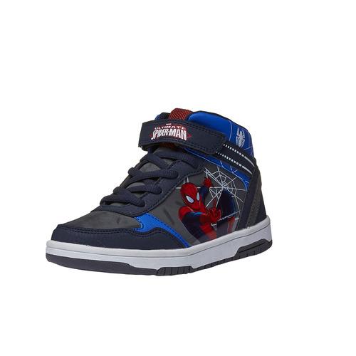 Sneakers Spiderman da bambino alla caviglia spiderman, grigio, 311-2129 - 13