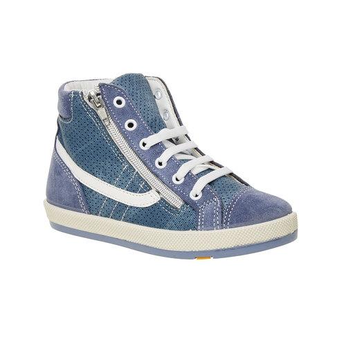 Sneakers da bambino alla caviglia flexible, blu, 311-9194 - 13