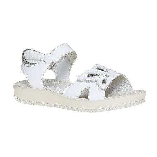 Sandali bianchi in pelle primigi, bianco, 364-1133 - 13