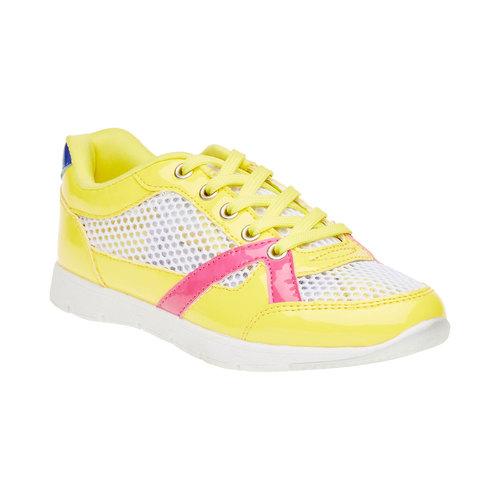 Sneakers da bambino mini-b, giallo, 329-8175 - 13