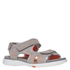 Sandali da bambino flexible, grigio, 363-2188 - 13
