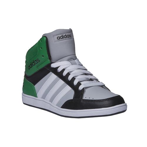 Sneakers da bambino alla caviglia adidas, nero, 401-6204 - 13