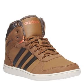 Sneakers alla caviglia con fodera calda adidas, giallo, 401-8191 - 13